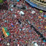 """Em discurso, Haddad promete coragem: """"Verás que um professor não foge à luta"""""""