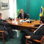 Azevêdo se reúne com Aguinaldo e Wilson em Brasília