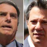 Ibope por estados: Bolsonaro tem 70% dos votos no DF e Haddad, 57% no RN