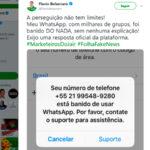 DITADURA ?  Após denúncias de fábrica de fake news, filho de Bolsonaro é banido do Whatsapp