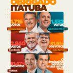 USANDO AS REDES SOCIAIS, PREFEITO DE ITATUBA AGRADECE, OBRIGADO ITATUBA