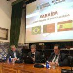 Em Salamanca, João Azêvedo ministra palestra para empresários espanhóis e destaca potencialidades da Paraíba*