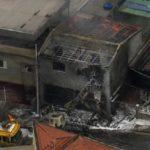 Queda de avião mata duas pessoas e fere 12 na zona norte de São Paulo (video)
