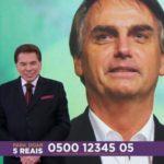 """Bolsonaro e Sílvio Santos, o encontro que atormenta a galera do """"#EleNão"""" (Veja o Vídeo)"""