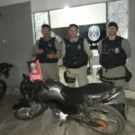POLICIAL – MOTO RECUPERADA EM INGÁ