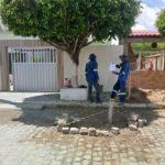 E VIVA O BOIGA DE SEU VAVÁ : Cagepa conserta vazamento reclamado hoje