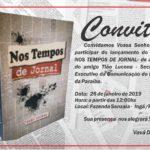 DO BLOG DO PEDRO MARINHO : Vavá da Luz convida para o lançamento do livro de Tião Lucena