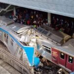 Trens da SuperVia batem em São Cristóvão