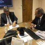 Azevêdo se reúne com Paulo Guedes e discute liberação de empréstimo