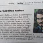 ERA FAKE NEWS: texto sobre Suzano não é do Padre Fábio de Mello e Correio da Paraíba replica mensagem falsa