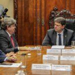 Governador Da Paraíba Negocia Dragagem Do Porto E Implantação Do VLT Em Campina Grande