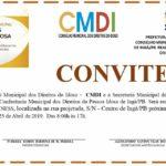 SECRETARIA MUNICIPAL DE AÇÃO SOCIAL DE INGÁ – CONVITE