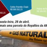 TENGO, LENGO TENGO, MAAAAÊÊÊ , OIA O GÁS ! : Dinheiro com todo gás! mais uma parcela do Royalties da ANP.
