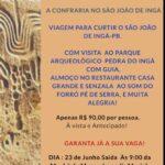 CONFRARIA DOS BOÊMIOS LANÇA PACOTE PARA SÃO JOÃO NO INGÁ