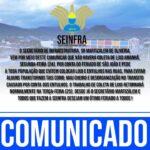 SEINFRA DE INGA – COMUNICADO
