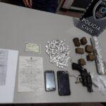 POLICIAL URGENTE : Prisão, armas e drogas apreendidas hoje no Ingá