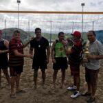 Inaugurada a quadra desportiva de vôlei e futvôlei de chã dos Pereira,
