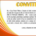 GRUPO PRIVADO TRILHEIROS E CAMPISTAS DO SERIDÓ – CONVITE