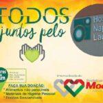 E MOGEIRO ENTRA NA LUTA CONTA O CANCER : Prefeitura de Mogeiro recebe doações para o Hospital Laureano