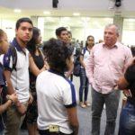 Estudantes secundaristas de Itapororoca vistam ALPB