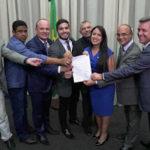 Cb Gilberto e Moacir assinam Aliança de apoio a Bolsonaro com deputados do PSL