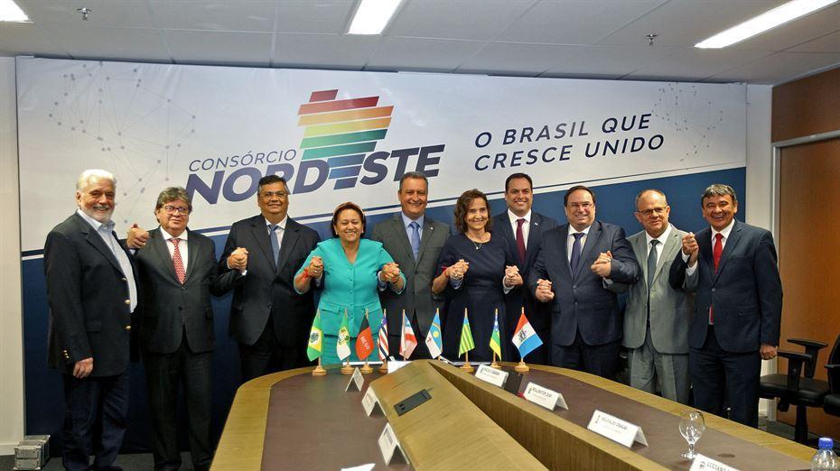 governadores pb - Governador João Azevedo participa de reunião do Consórcio do Nordeste na tarde desta quarta-feira