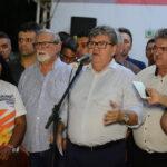Governador manda recado duro para opositores do prefeito de Itabaiana. Veja vídeo: