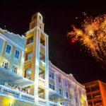 ALPB inicia programação de Natal e aciona iluminação do Paraíba Palace