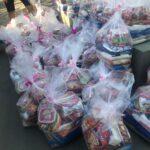 Loja Maçônica Itacoatiara distribui cestas básicas aos carentes