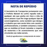 SECRETÁRIO DE TRANSPORTES E PREFEITO DE INGÁ REPUDIAM E ESCLARECEM ACONTECIMENTO COM PASSAGEIRO