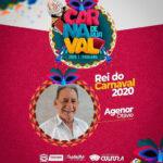 Agenor Otávio é escolhido para Rei do Carnaval em Itabaiana