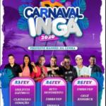 Bandas Saia Justa Elétrico e Claudiano Geração abrem Carnaval de Ingá na noite deste domingo, 23