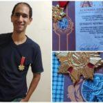 MAIS UM INGAENSE IMORTAL :  Escritor ingaense é admitido na Academia Independente de Letras em Santa Catarina