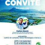 UM BATE PAPO COM QUEM ENTENDE DE CARCINICULTURA – CONVITE