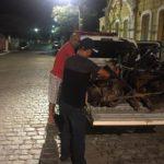 Policia Civil estoura desmanche de moto em Riachão do Bacamarte