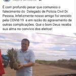 LUTO , FALECE DR PESSOA, DELEGADO DE MOGEIRO