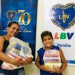 A LBV assiste milhares de famílias afetadas pelo Covid-19 no Brejo Paraibano