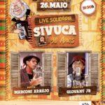 """ACVPB realizará """"LIVE SOLIDÁRIA SIVUCA 90 ANOS"""" no dia 26/05"""