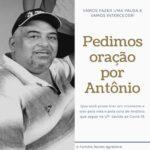 LUTO – MORRE ANTONIO GORDO UM AMIGO DA GENTE E O VEREADOR NEGO FALA EM NOME DA FAMILIA