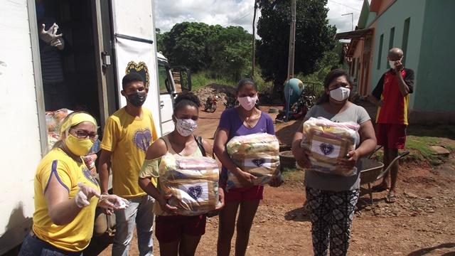 Famílias da Região da Borborema recebem doações da LBV durante a ...