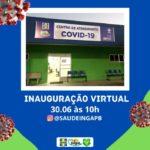 Prefeitura de Ingá inaugura Centro de Atendimento exclusivo para casos suspeitos ou confirmados da Covid-19