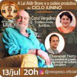 O governo da Paraíba selecionará 84 artistas para atuar como mentores de estudantes no Sivuc@thon – Festival Arte em Cena Digital.