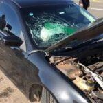 Bolsonaro vai a pé ao Planalto após acidente com carro do comboio presidencial