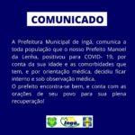 PREFEITURA MUNICIPAL DE INGA – COMUNICADO
