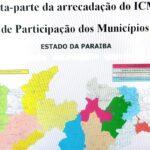 Governo da Paraíba repassa mais de R$ 877,8 milhões em tributos estaduais aos 223 municípios em sete meses