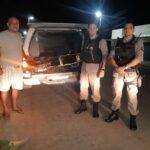 EM INGÁ POLICIA CIVIL E MILITAR RECUPERAM MOTO ROUBADA