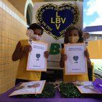 LBV realiza atividades lúdicas à distância com crianças