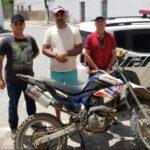 No Ingá a policia Civil prende foragido da Justiça e apreende moto roubada