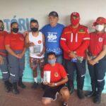BOMBEIROS CIVIS VISITAM AS ITACOATIARAS DE INGÁ