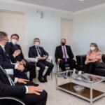 Reunião entre Secretaria da Segurança, Polícia Civil e OAB-PB reafirma compromisso de harmonia entre as instituições